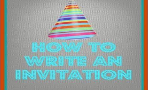 how to write invitation letter in urdu | Pakistan Home School