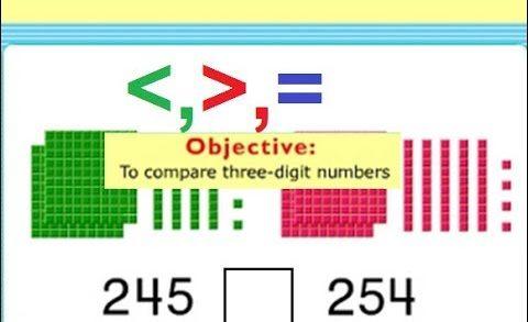 comparing 3 digit numbers   Pakistan Home School